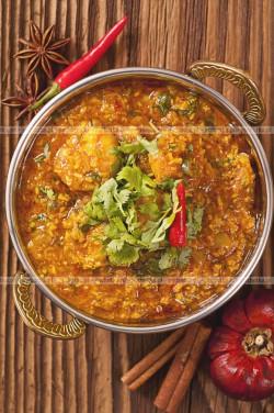 Kurczak w kokosowym sosie curry