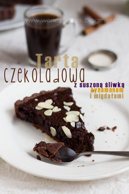 Śliwki w czekoladzie.