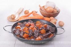 Pikantna potrawka z marchwi