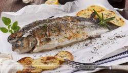 Ryba pieczona na węglach