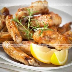Skrzydełka kurczaka marynowane w curry