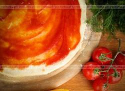 Spód pizzy o smaku czosnkowym