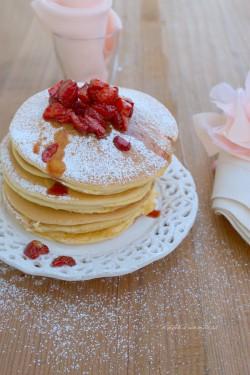Sponge-cake omelette