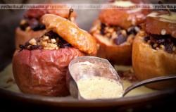 Zapiekane jabłka w kremie Iwony