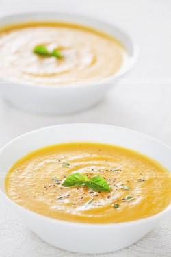 Zupa z dyni na kwaśno