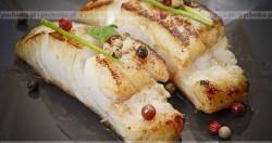 Ryba na parze z imbirem