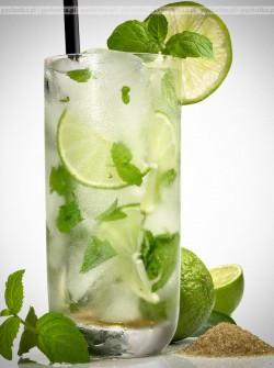 Woda z limonką