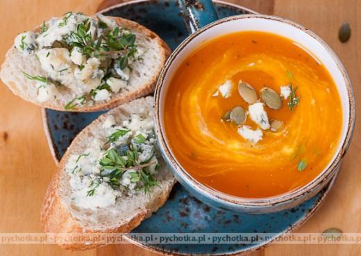 Zupa z dyni Sonii