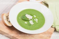 Zupa ze szpinaku i rzeżuchy