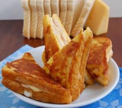 Kanapki Monte Christo przepis – zjem to blog kulinarny