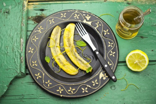 Banan w Brązowym Cukrze