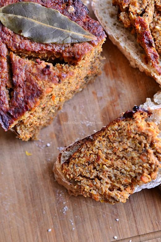 Pasztet warzywno mięsny z kaszą jaglaną