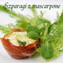 szparagi z mascarpone