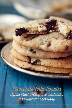 Chocolate chip cookies – Przepis