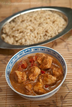 czerwone curry
