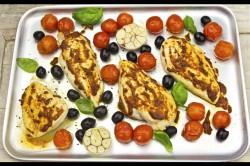 Kurczak z Pomidorami i Harissą