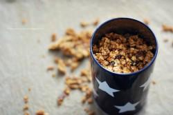 Pachnąca cynamonem dyniowa granola
