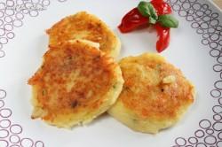 placki ziemniaczane z serem cheddar
