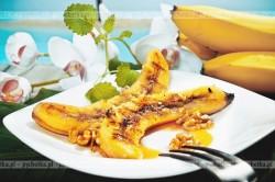 Banany smażone w miodzie z cynamonem