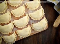 Ciasto zaparzane na pierogi