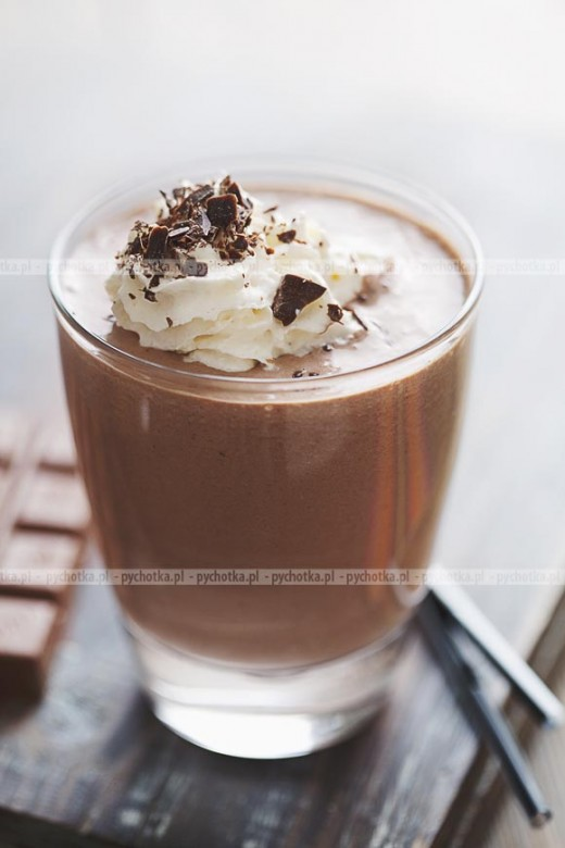 Koktajl mleczno- kawowy