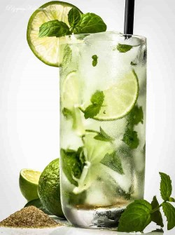 Limonkowy koktajl