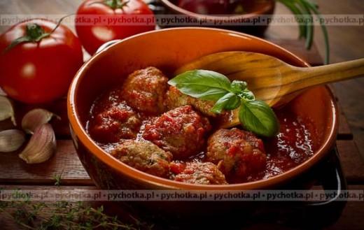 Pulpety w sosie pomidorowym z piekarnika