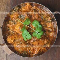 Schab w curry