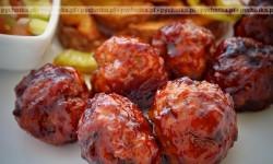 Wieprzowe klopsy o smaku jabłka