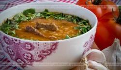 Zupa Harczo z wołowiną