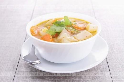 Zupa warzywna Adama