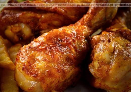Aromatyczny kurczak z pieczarkami