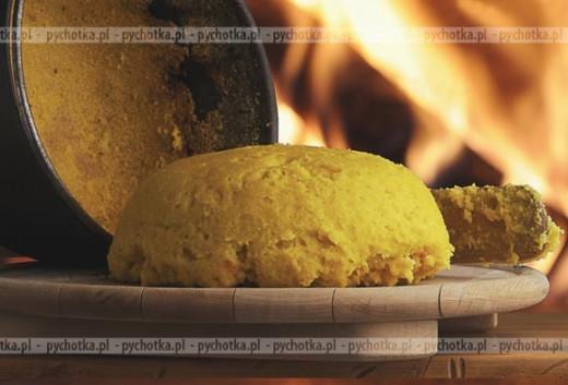 Piure ze słodkich ziemniaków z imbirem