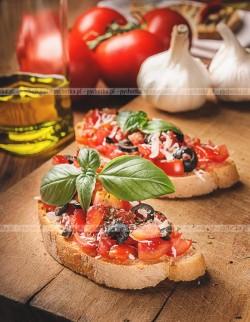 Pomidorowe grzanki