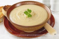 Zupa krem z ziemniakow i pora