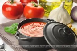 Zupa pomidorowa z kulkami mięsnymi