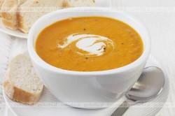 Zupa z dyni z kminkiem