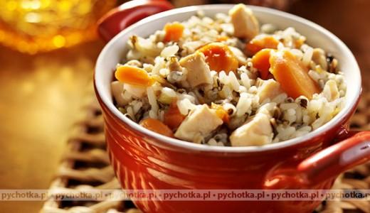 Ryż z marchewką z kurczakiem