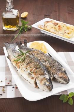 Ryba pieczona po trapersku