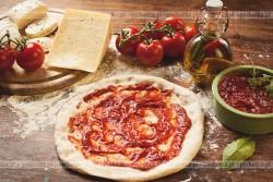 Spód pizzy bez drożdży