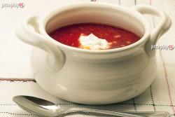 Zupa pomidorowa na wołowinie