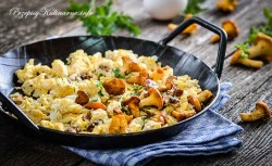 Jajecznica i kurki