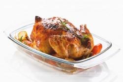 Kurczak nadziewany pieczarkami