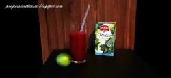 Napój antystresowy z melisą i galaretką cytrynową / Anti-stress drink with melissa and lemon jelly