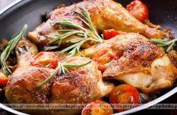 Udka kurczaka duszone w pomidorach