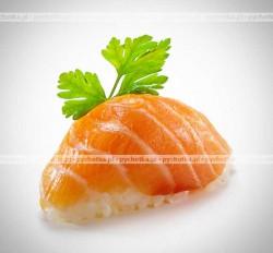 Kuleczki ryżowe z łososiem