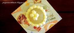 Galaretka z jabłek z bitą śmietaną / Apple jelly with whipped cream