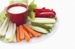 Taca warzyw z dipem