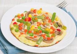 Omlet warzywny Marysi