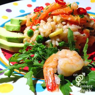 risotto z krewetkami i cukinią – zobacz ich smak